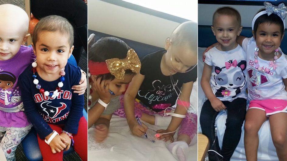 Diese kleinen Mädchen kämpften gemeinsam gegen Krebs und wurden beste Freunde