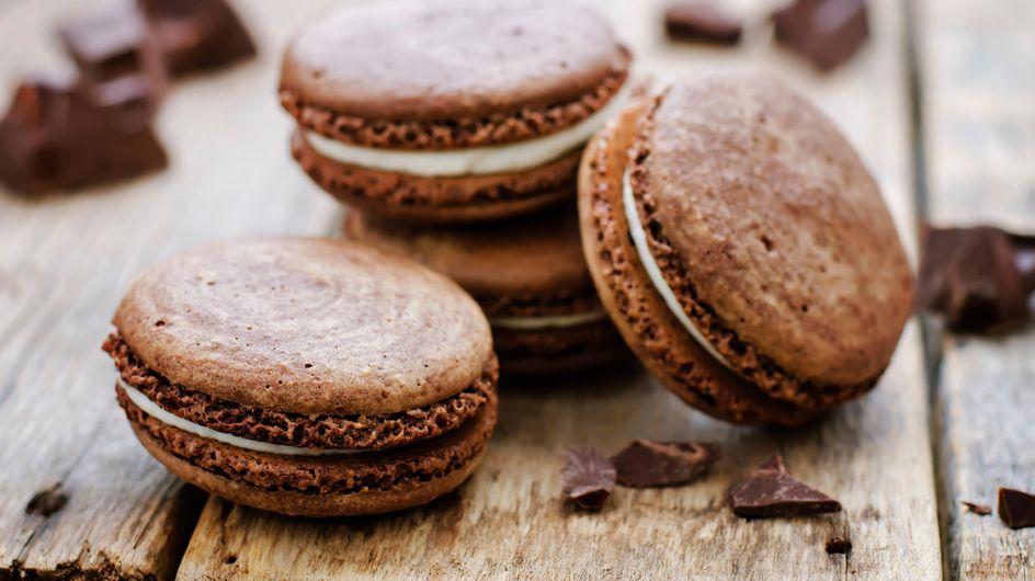 La recette des indémodables macarons chocolat noisette