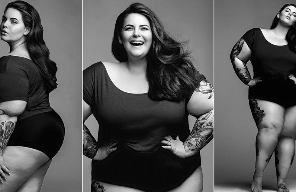 """Dick im Geschäft: Plus-Size-Bloggerin Tess Holliday wird """"größtes"""" Model mit Modelvertrag"""