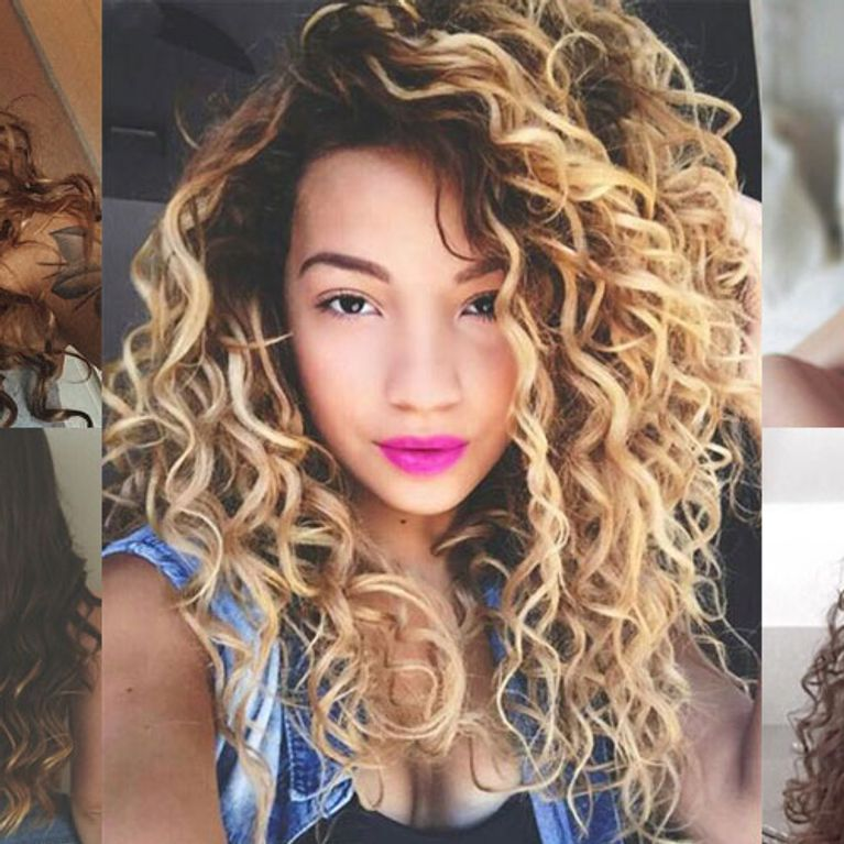Bored With Your Ringlets? Here's How To Style Naturally ...