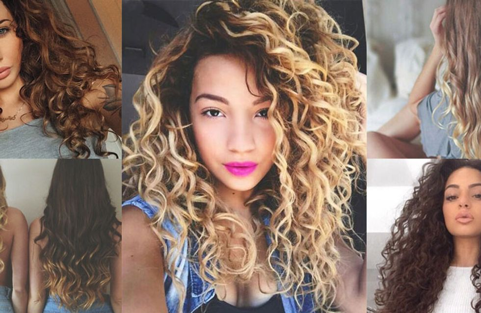 Bored With Your Ringlets? Here's How To Style Naturally Curly Hair