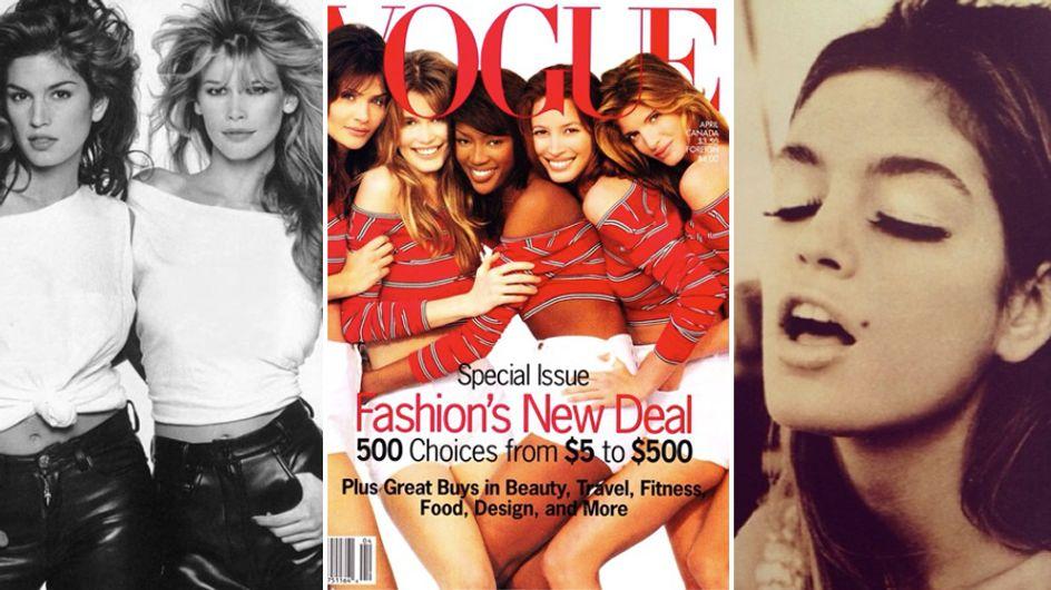 Claudia, Naomi, Cindy: com'erano e come sono. Le foto più belle delle super top!
