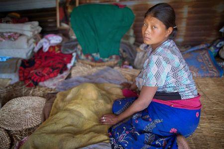 Mingwa, 26 ans, au Népal