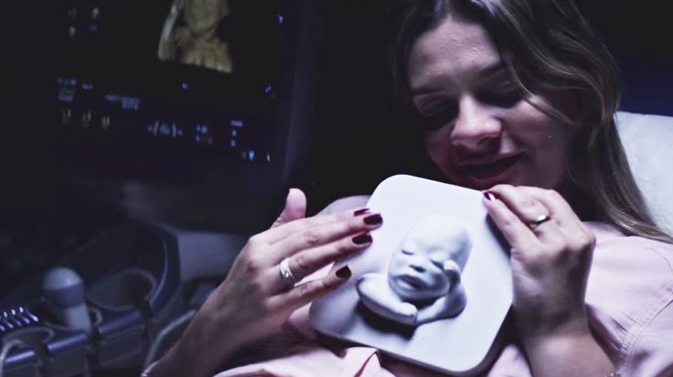 Una futura mamma cieca può vedere il suo bambino grazie a un'ecografia 3D. Guarda il commovente video dell'incontro tra Tatiana e il suo bebè