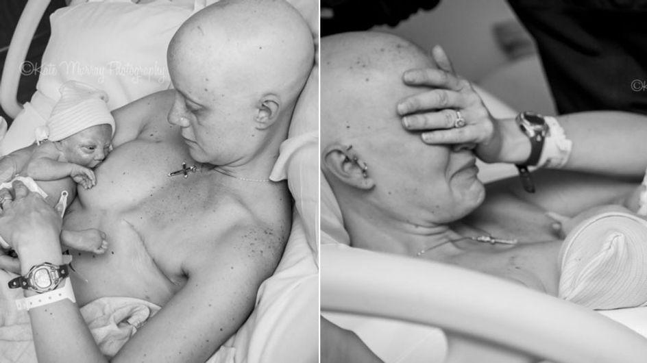 ¡Y el milagro ocurrió! Una madre da el pecho a su bebé después de sufrir cáncer de mama