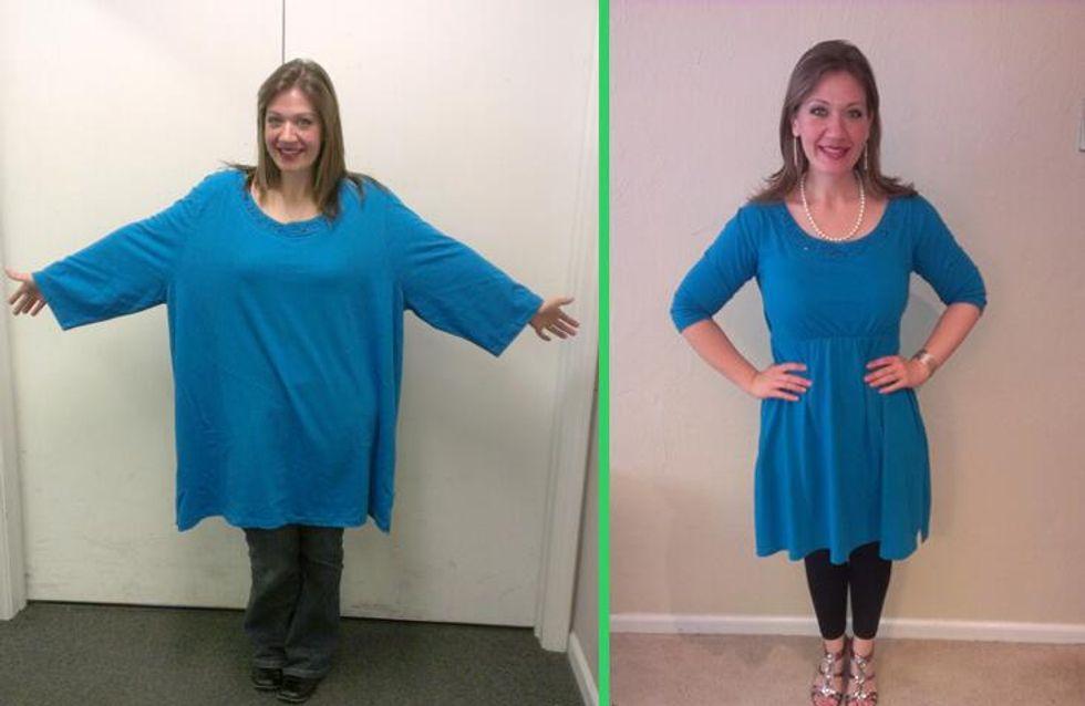 Recalée à l'émission The Biggest Loser, elle se lance seule dans un régime drastique (Photos)