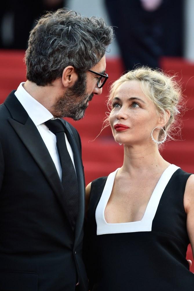 Emmanuelle Béart et son compagnon Frédéric