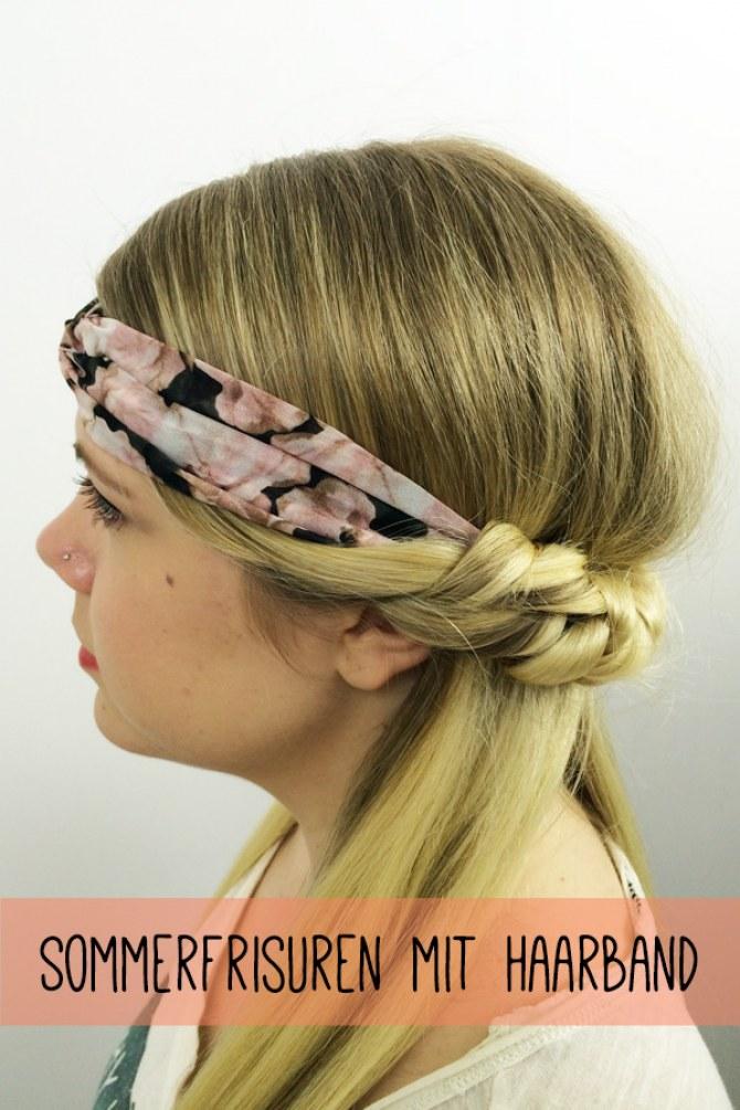 Sommerfrisuren Haarband Erstes Bild