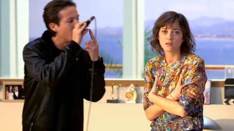 Quand Marion Cotillard s'essaye au rap (Vidéo)