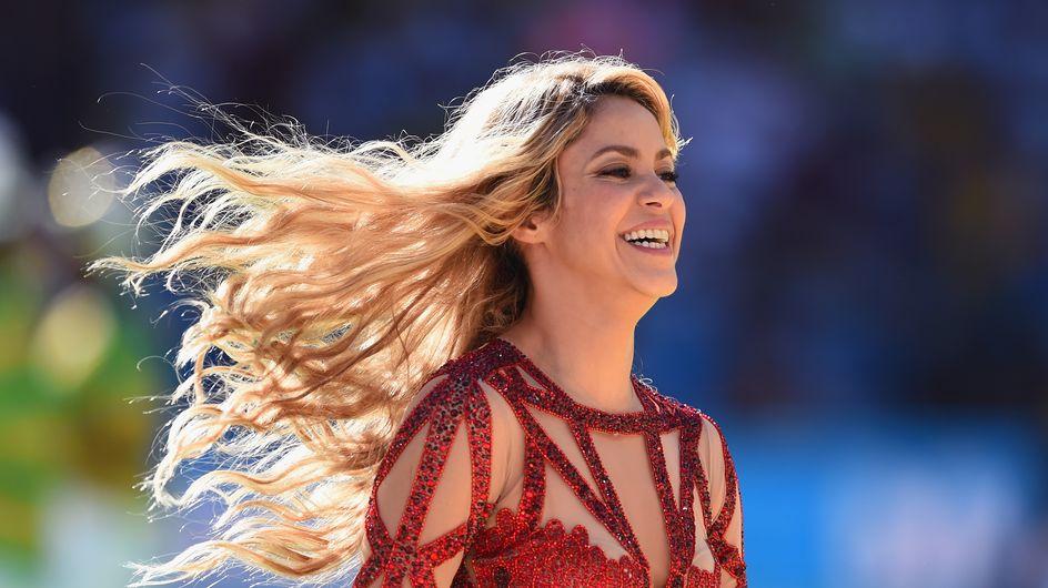 Les astuces forme de Shakira pour retrouver la ligne après bébé