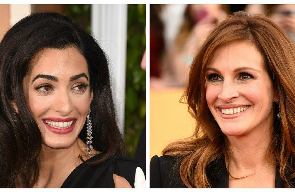Amal Clooney a fait craquer Julia Roberts