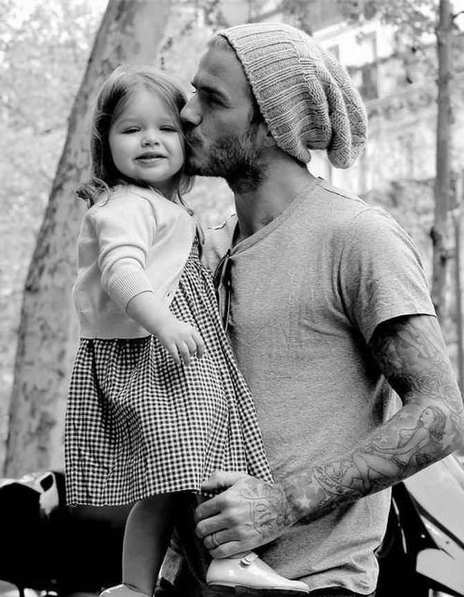 David Beckhamm, de métrosexuel par excellence à lumbersexuel