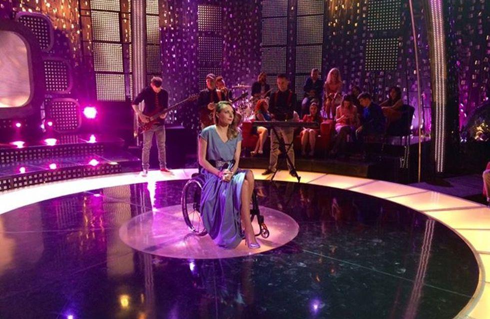 La femme de la semaine : Monika Kuszynska, l'Eurovision en fauteuil roulant