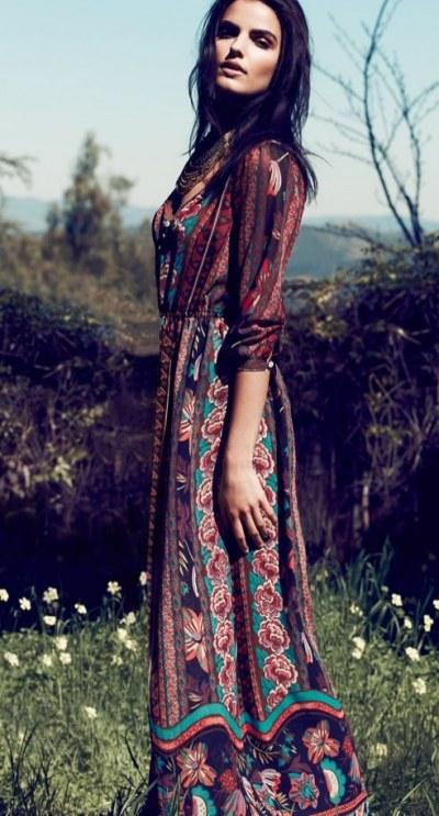 Kleid hippie look