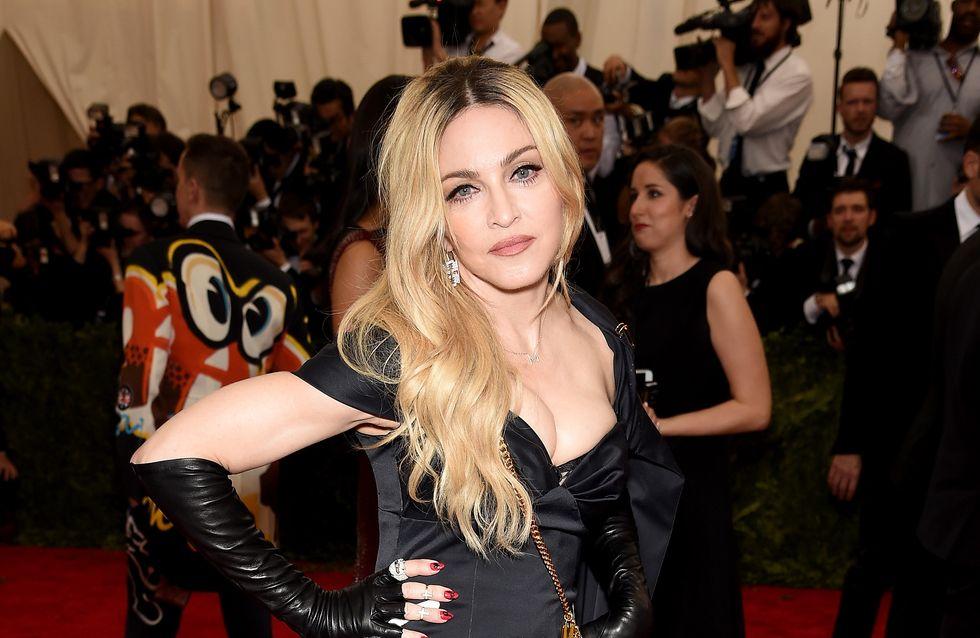 Madonna ose les cheveux roses (Photos)
