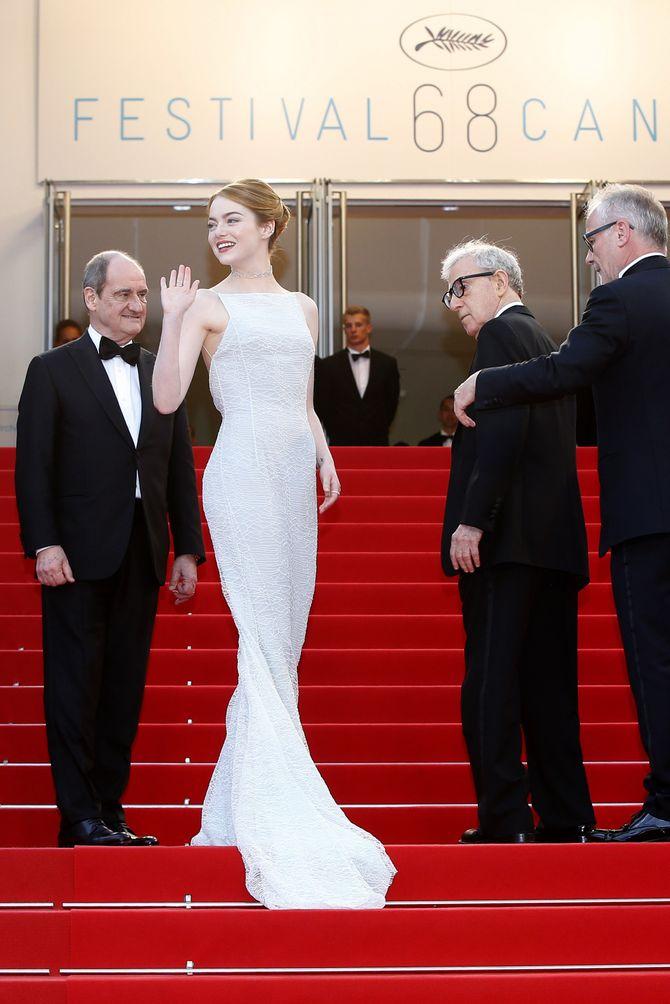 Emma Stone à Cannes