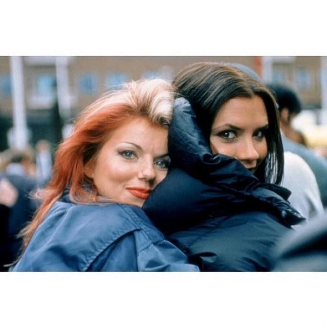 Victoria Beckham et Geri Halliwell