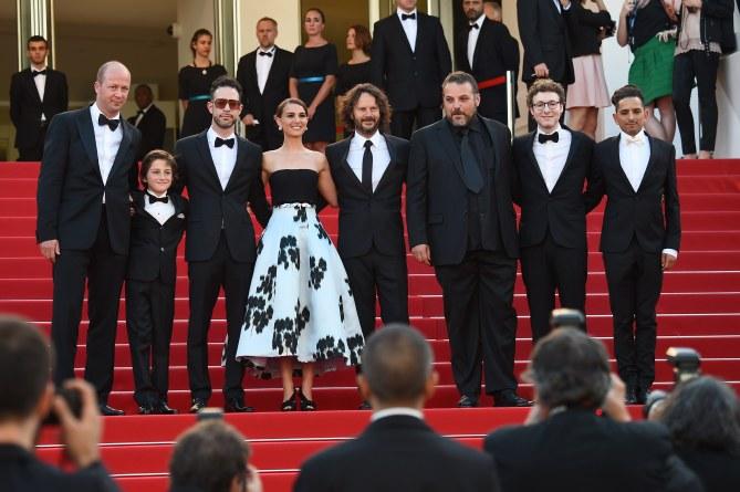 Natalie Portman et son équipe