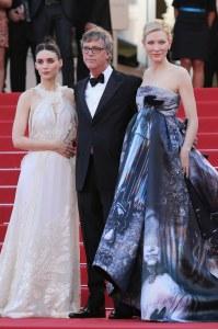 Cate Blanchett, Rooney Mara et Todd Haynes au Festival de Cannes 2015