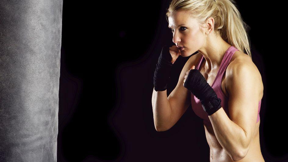 Macht Spaß, bringt Muckis: Schnelles Box-Workout für einen flachen Bauch