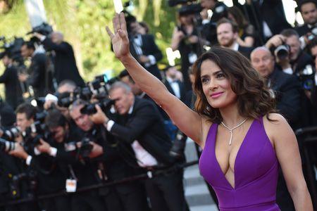 Salma Hayek au Festival de Cannes 2015