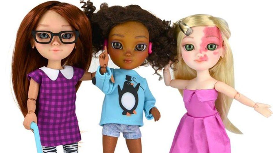 Pour prôner la tolérance chez les enfants, ce fabricant a créé des Barbies handicapées