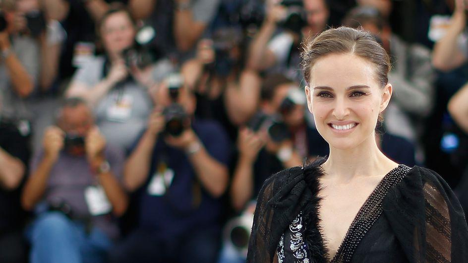 Natalie Portman surprend en robe transparente à Cannes (Photos)