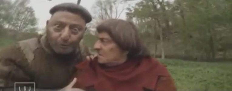Christian Clavier et Jean Reno (Les Visiteurs 3)