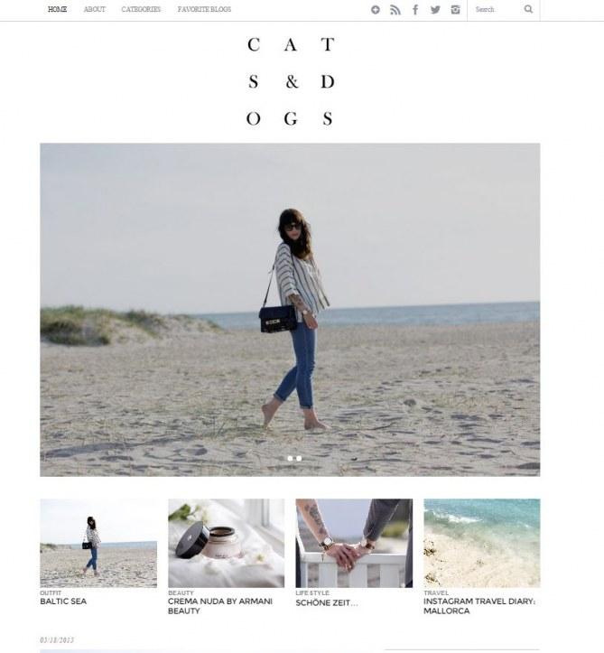 Die besten Fashion-Blogs aus Deutschland: Cats & Dogs