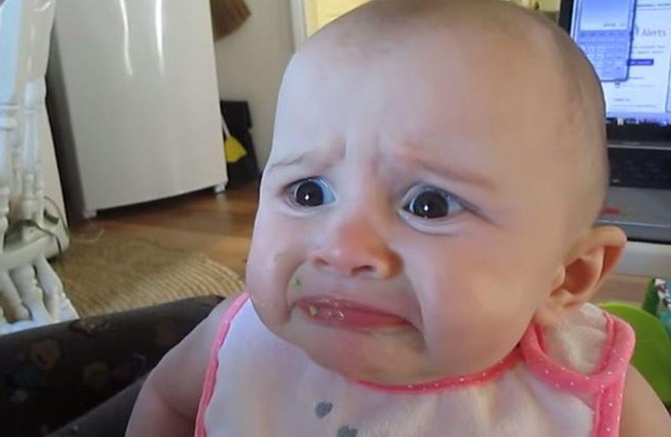 Ce bébé n'aime VRAIMENT pas les avocats (Vidéo)