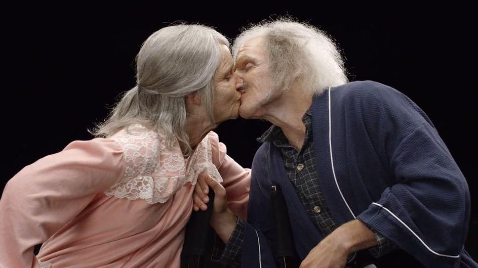 [Vídeo] Una pareja envejece 70 años gracias al maquillaje y comprueba que el amor no entiende de arrugas