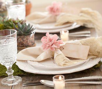 Servilletas originales para el día de la boda