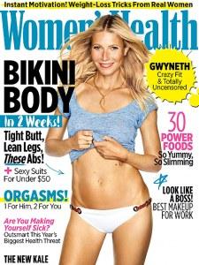 Gwyneth Paltrow en couverture de Women's Health