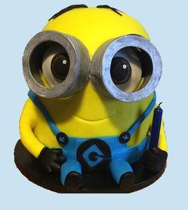 Tuto du gâteau Minion pour faire fondre petits et grands