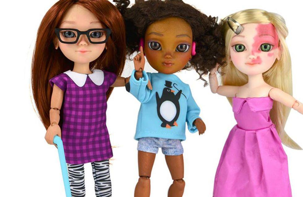 Brinquedos inclusivos: conheça bonecas com necessidade especiais