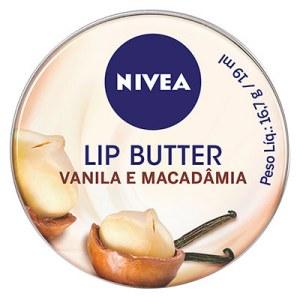 Manteiga labial Vanila e Macadâmia Nivea, R$ 15