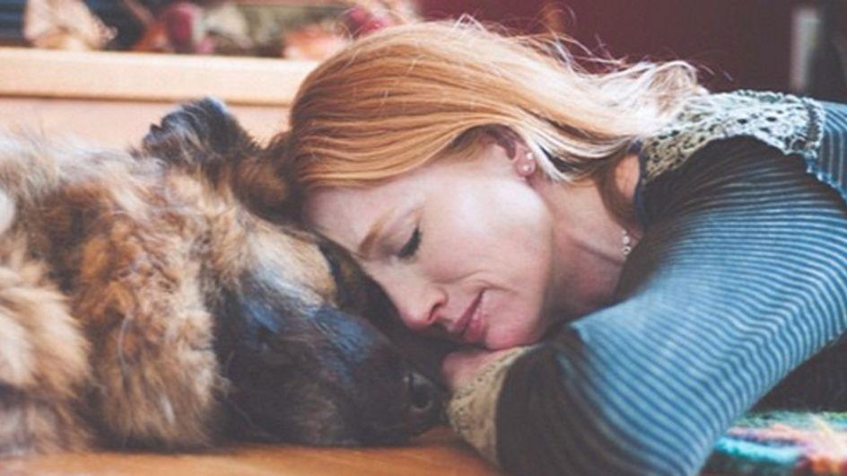 Diese Bilder rühren zu Tränen: Die letzten Momente zwischen Hund und Herrchen