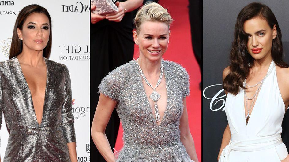 Qui décrochera la palme du décolleté le plus plongeant au Festival de Cannes 2015 ? (Photos)