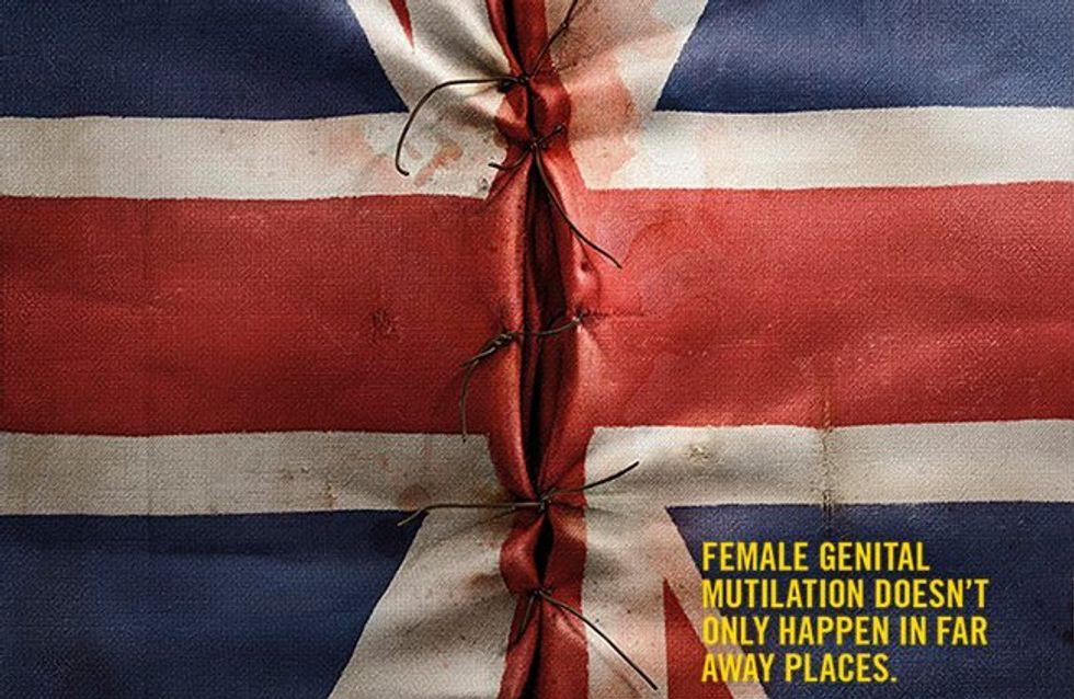 Une campagne choc dénonce les excisions en Europe et dans le monde