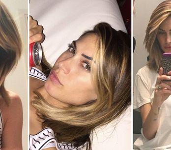 Long bob anche per Melissa Satta! Le foto del nuovo taglio di capelli della ex v