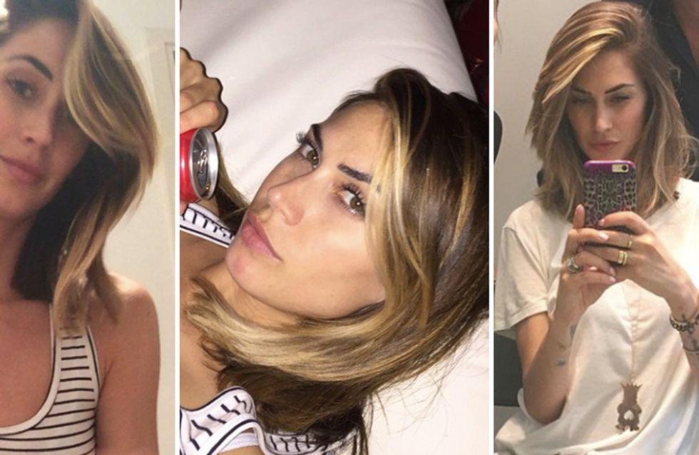 Long bob anche per Melissa Satta! Le foto del nuovo taglio di capelli della ex velina
