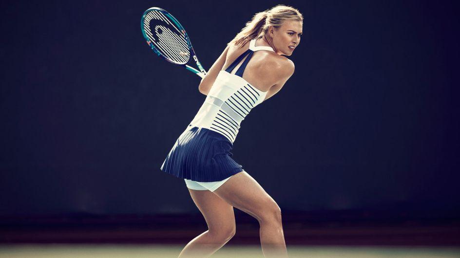 Avant Roland Garros, Nike lance une collection en l'honneur de Maria Sharapova