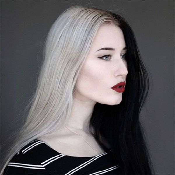 Would You Dye Your Hair Like Cruella De Vil  Half And Half Hair Is Happening 49a9c8436263