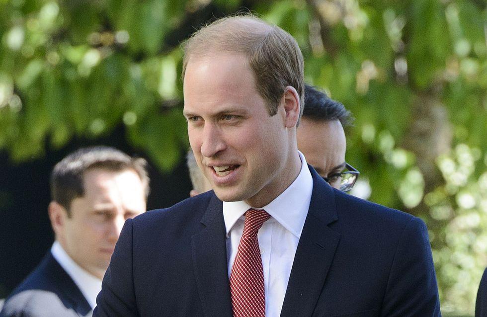Le prince William épuisé par sa fille Charlotte