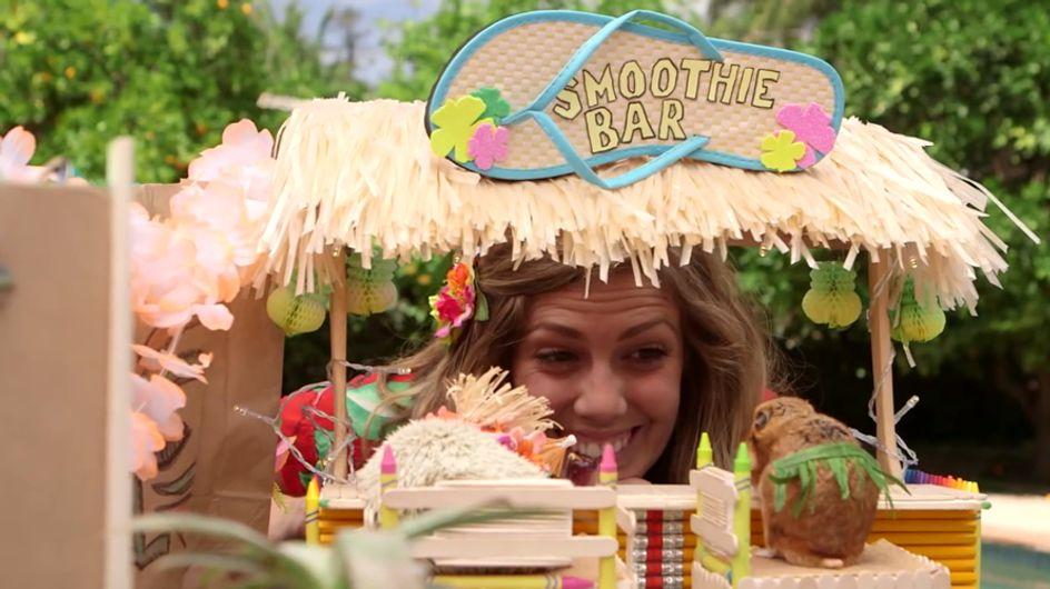Video/ Tiny Hamster: guarda questo criceto fare tutto come un umano, anche l'aperitivo in spiaggia