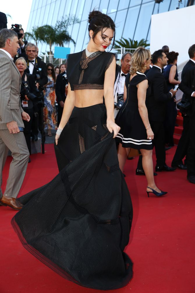 Kendall Jenner à Cannes