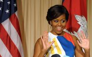 Les 5 exercices de Michelle Obama pour lutter contre l'obésité (Vidéo)