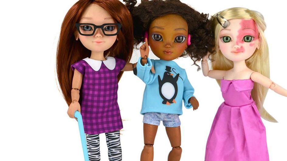 Dieses besondere Spielzeug zeigt Kindern, dass Anderssein eigentlich ganz normal ist