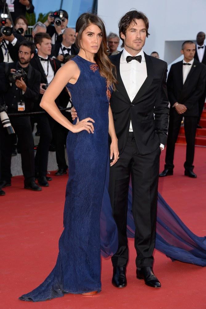 Nikki Reed et Ian Somerhalder à Cannes