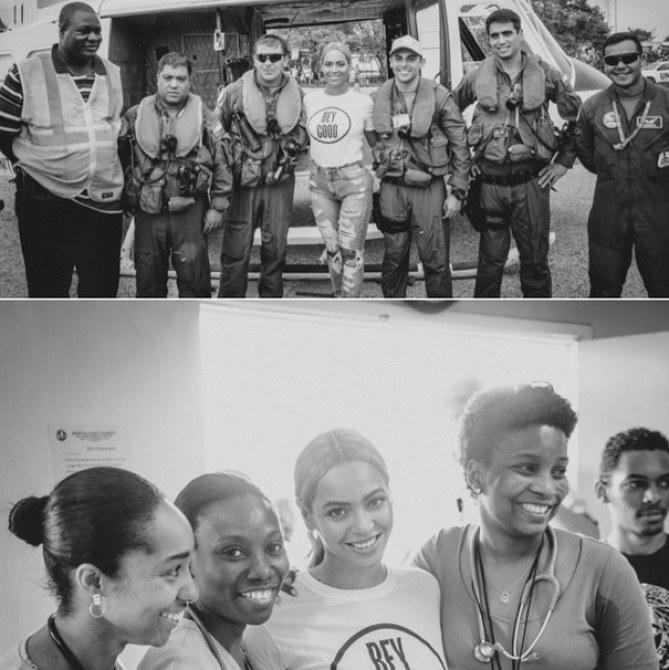 Beyonce en Haïti
